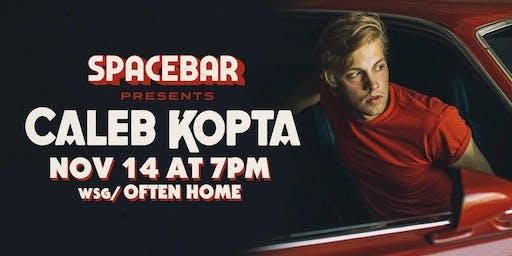 Caleb Kopta in concert