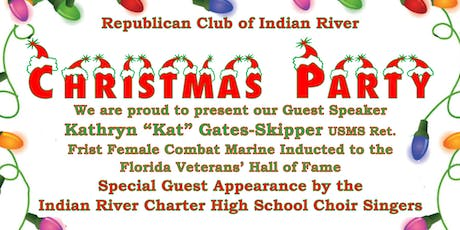 Republican Club of Indian River CHRISTMAS PARTY ! tickets