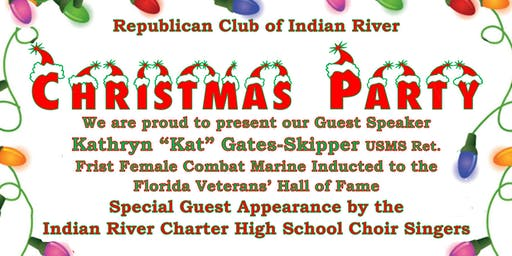 Republican Club of Indian River CHRISTMAS PARTY !
