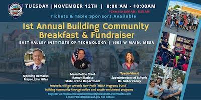 Mesa PD 1st Annual Building Community Breakfast