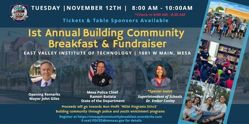 1st Annual Building Community Breakfast