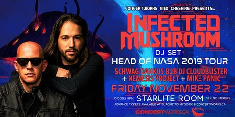 Infected Mushroom w/ Guest tickets