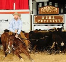 National Cutting Horse Association logo