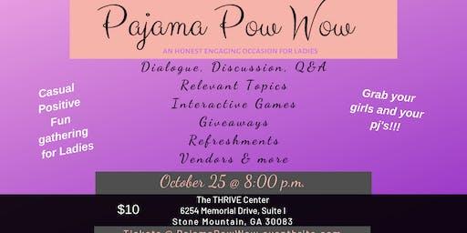 Pajama Pow Wow October 25, 2019