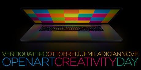 OpenartCreativityDay biglietti