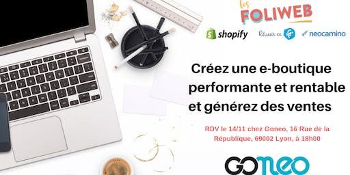 [Lyon] Créez une e-boutique performante et rentable et générez des ventes