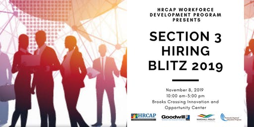 Event Registration - HRCAP Workforce Development Section 3 Hiring Blitz