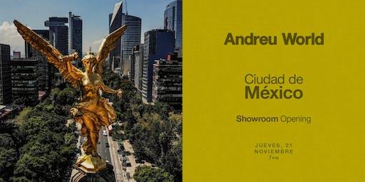 Andreu World | Showroom Opening | Ciudad de México