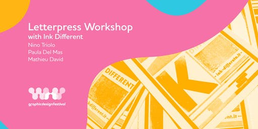 Letterpress Workshop with Ink different