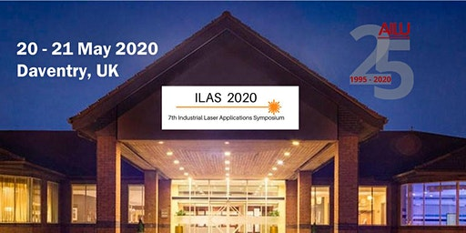 Industrial Laser Applications Symposium (ILAS) 2020