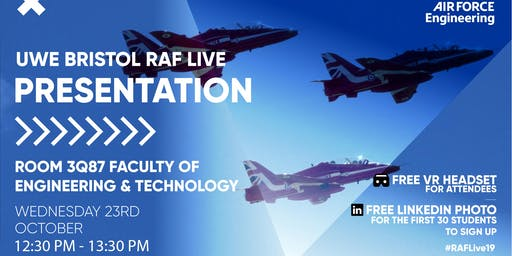 RAF LIVE PRESENTATION - University of West England