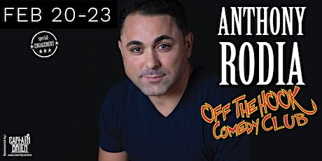 Comedian Anthony Rodia Live In Naples, FL Off the hook comedy club tickets