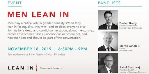 Lean In Canada-Toronto: Men Lean In