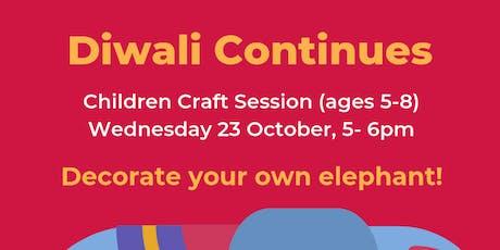 Diwali Children Craft Session tickets