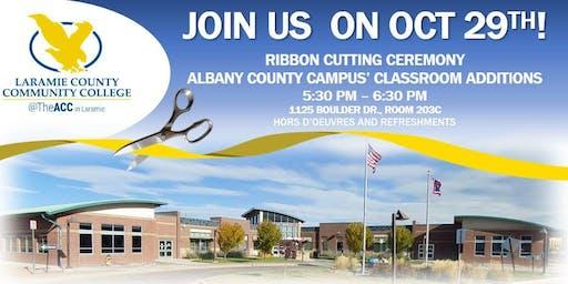 Ribbon Cutting Ceremony: Laramie County Community College
