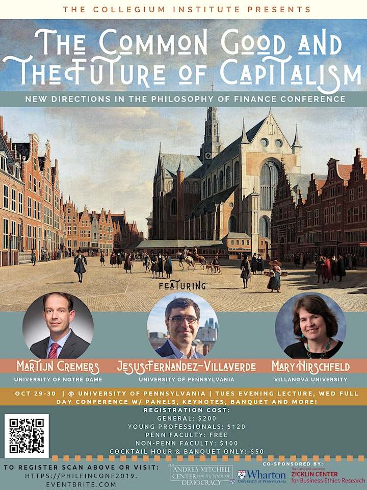 The Common Good and the Future of Capitalism Conference image