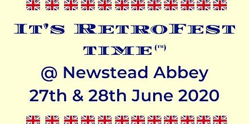 It's RetroFest Time @ Newstead Abbey