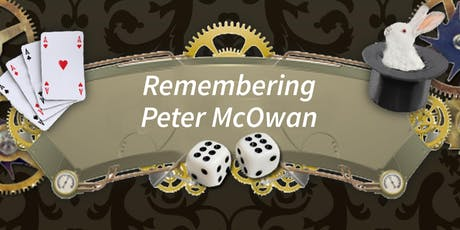 Remembering Peter McOwan tickets