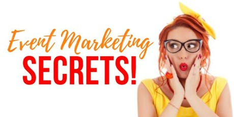 Event Marketing SECRETS Masterclass   HOW TO FILL YOUR EVENT FAST tickets