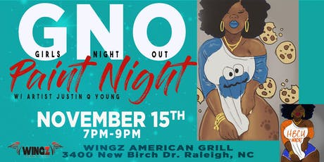 Girls Night Out Paint Night- RALEIGH tickets