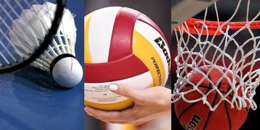 FREE GAME OF BADMINTON or BASKETBALL  - Wednesday 23 October