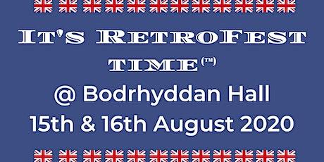 It's RetroFest Time @ Bodrhyddan Hall tickets