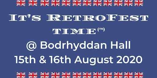 It's RetroFest Time @ Bodrhyddan Hall