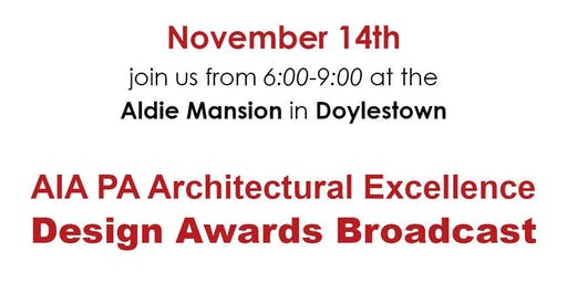 AIA Bucks County - PA AIA Virtual Awards