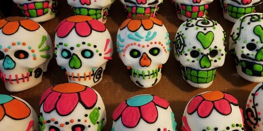 Decorate 2 Sugar Skull Class October 26th