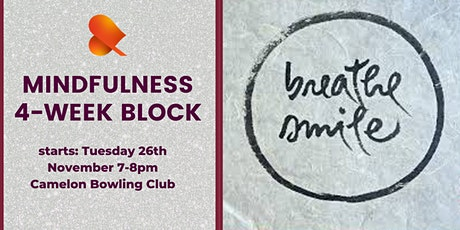 Mindfulness 4-Week Block - Individual Sessions - Camelon tickets