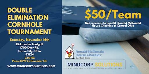 Inaugural MindCorp Cornhole Tournament for Ronald McDonald House-Ctrl Ohio