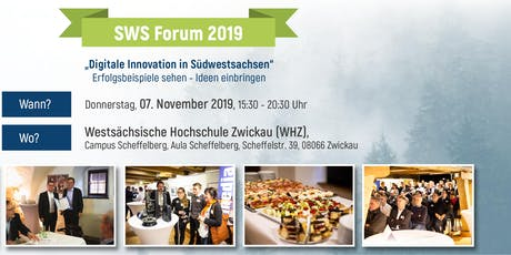 SWS Forum - Digitale Innovation in Südwestsachsen Tickets