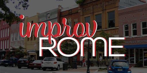 Improv Rome - Level One - Fall 2019