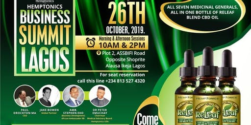 HEMPTONICS BUSINESS SUMMIT LAGOS