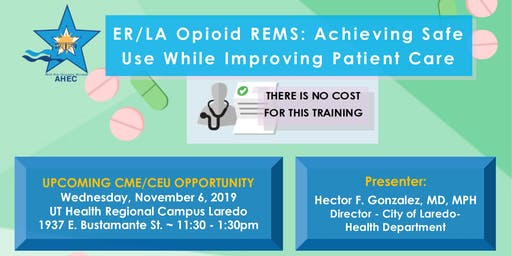 ER/LA Opioid REMS: Achieving Safe Use While Improving Patient Care