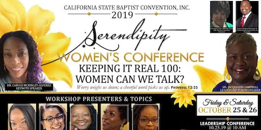 Serendipity- 2019 Women's Word Conference