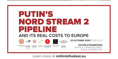 Putin's Nord Stream 2 Pipeline and Its Real Costs to Europe tickets