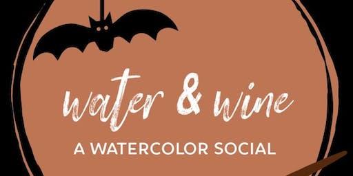 Water & Wine [Halloween theme!]