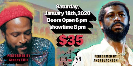 Marvin Gaye & Teddy Pendergrass Tribute Show