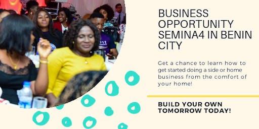 Free  Business Opportunity Seminar in Benin city!