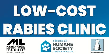Low-Cost Rabies Clinic Pre-Registration tickets