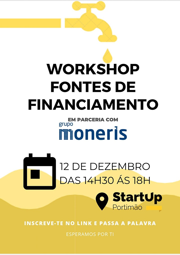 imagem Workshop Fontes de Financiamento