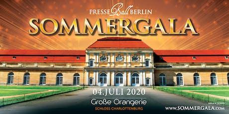 Presseball Berlin Sommergala 2020  -Königlich-Festlich-Köstlich Tickets