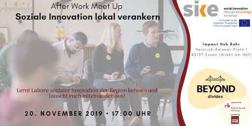 "AfterWork Meetup ""Soziale Innovationen lokal verankern"""