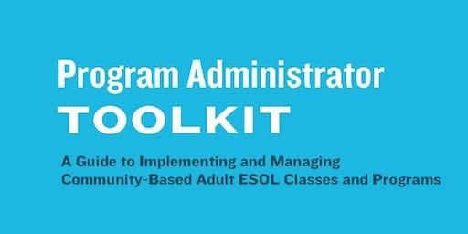 Program Administrator Toolkit Reception