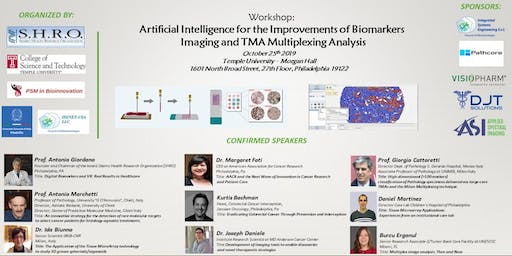 Artificial Intelligence for Improvements of Biomarkers Imaging and TMA Multiplexing Analysis