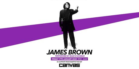 James Brown: Tribute Night Ft Buzz D'Angelo tickets