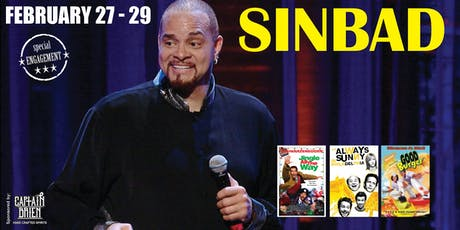 Comedian SINBAD Live at Off the hook comedy club Naples, Florida tickets