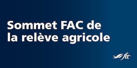 Sommet FAC de la relève agricole ALLUMÉS! - Lévis  billets