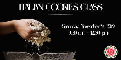 Italian Cookies Class
